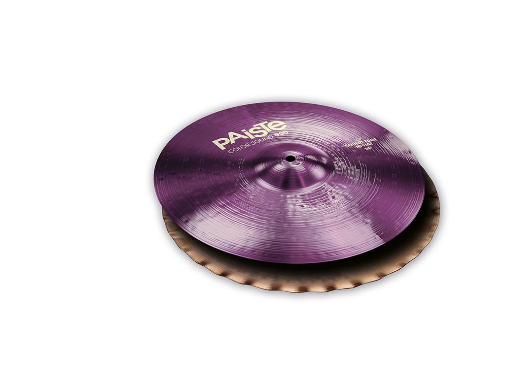 Details about Paiste 900 Series Color Sound Purple 14 Sound Edge Hi Hat  Cymbals - CY0001943114