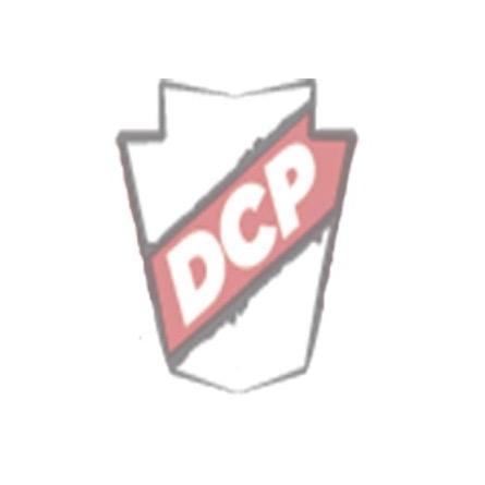 "Ludwig Bass Drum Logo Head : 22"" Powerstroke 3 Smooth White w/ Block Logo"