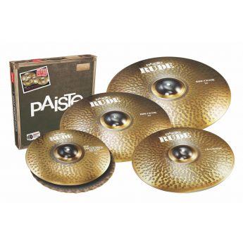 Paiste Rude Cymbal Set 14/20/22 + Free 18