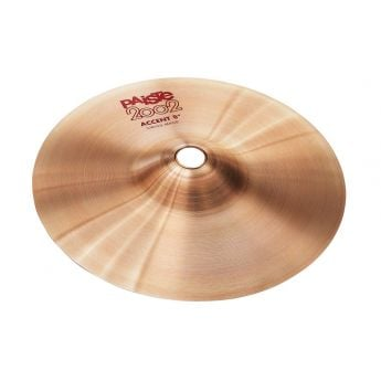"""Paiste 2002 Accent Cymbal w/ Leather Strap 8"""""""