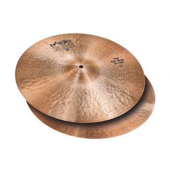 """Paiste 2002 Big Beat Hi Hat Cymbals 16"""""""