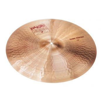"Paiste 2002 Thin Crash Cymbal 17"""