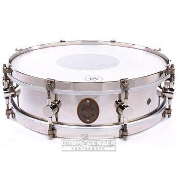 A&F Nickel Over Brass Snare Drum 14x4 8-Lug