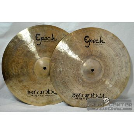 "Istanbul Agop Lenny White Epoch Hi Hat Cymbals 14"""
