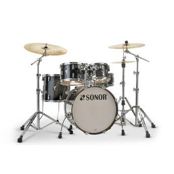 Sonor AQ2 Maple Studio Drum Set - Transparent Black