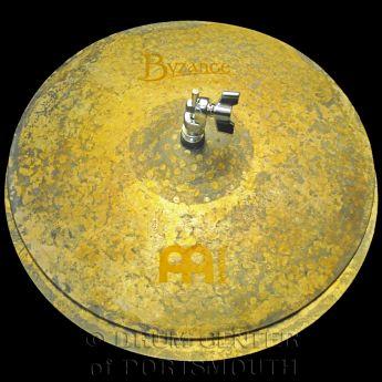 "Meinl Byzance Vintage Pure Hi Hat Cymbals 15"" 1057/1312 grams"