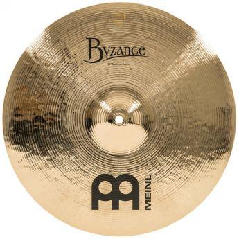 Meinl Byzance Brilliant Medium Crash Cymbal 16