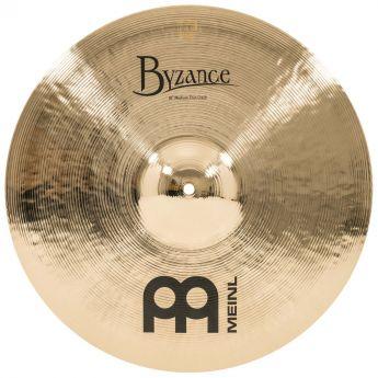 Meinl Byzance Brilliant Medium Thin Crash Cymbal 18