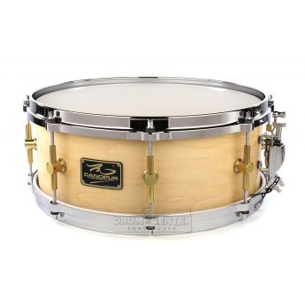 Canopus 'The Maple' Snare Drum 14x5.5 Natural Oil w/ Cast Hoops