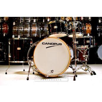 Canopus Yaiba 5pc Groove Drum Set Ebony Lacquer