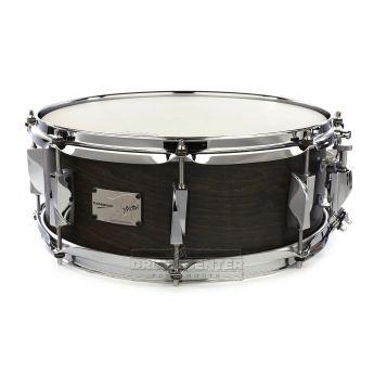 Canopus Yaiba Maple Snare Drum 14x5.5 Matte Ebony