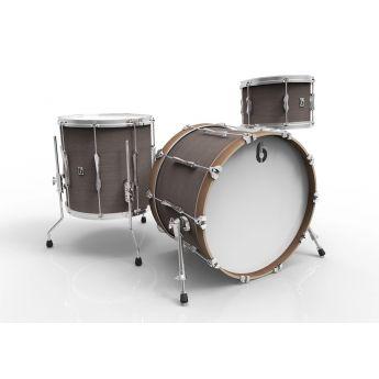 British Drum Company Lounge Series Club 3pc Drum Set 13/16/24 - Kensington Crown