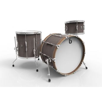 British Drum Company Lounge Series Club 3pc Drum Set 12/14/20 - Kensington Crown