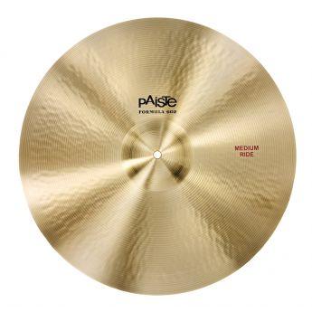 "Paiste Formula 602 Medium Ride Cymbal 20"""