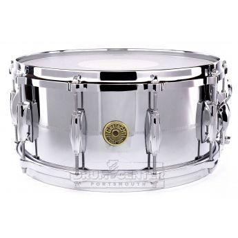 Gretsch USA Chrome Over Brass Snare Drum 14x6.5