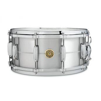 Gretsch USA Solid Aluminum Snare Drum 14x6.5