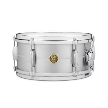 Gretsch USA Solid Aluminum Snare Drum 6X13