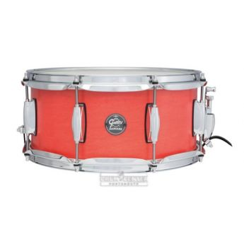 Gretsch Marquee 6.5X14 10 Lug Snare Satin Red Coral- Liquidation Deal!