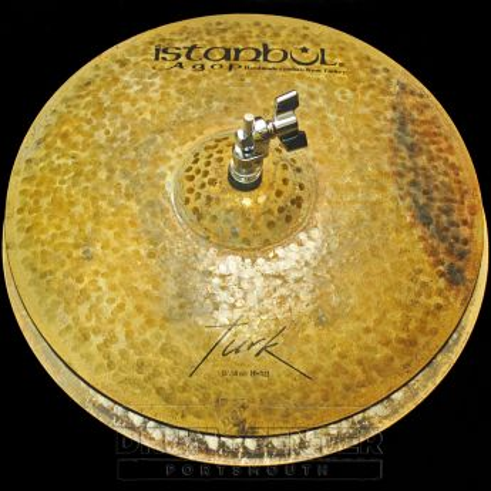 "Istanbul Agop Turk Hi Hat Cymbals 15"" 1195/1345 grams"