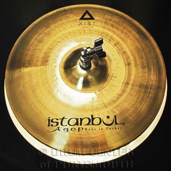 """Istanbul Agop Xist Brilliant Hi Hat Cymbals 14"""""""