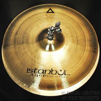 """Istanbul Agop Xist Brilliant Hi Hat Cymbals 15"""""""