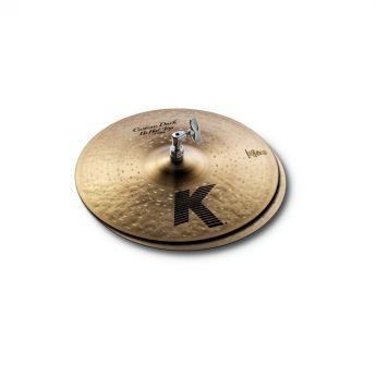 "Zildjian K Custom Dark Hi Hat Cymbals 14"""