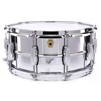 Ludwig Supraphonic Chrome Over Brass Snare Drum 14x6.5