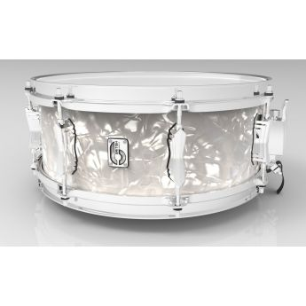 British Drum Company Lounge Series Snare Drum - 14x5.5 - Windermere Pearl