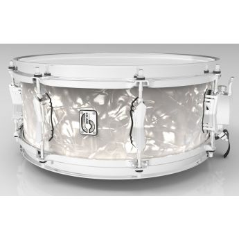 British Drum Company Lounge Series Snare Drum - 14.6.5 - Windermere Pearl