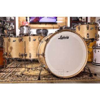 Ludwig Classic Maple 4pc Bonham Drum Set Natural Maple Gloss