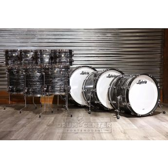 Ludwig Classic Maple Vintage Black Oyster Shell Bank