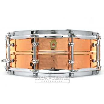 Ludwig Copper Phonic Snare Drum 14x5 Hammered w/ Tube Lugs