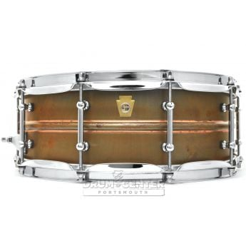 Ludwig Copper Phonic Snare Drum 14x5 Raw w/ Tube Lugs