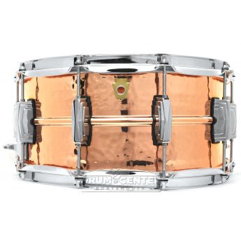 Ludwig Copper Phonic Snare Drum 14x6.5 Hammered