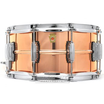 Ludwig Copper Phonic Snare Drum 14x6.5