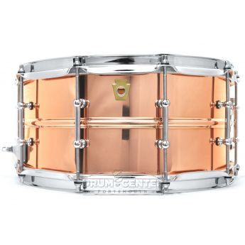 Ludwig Copper Phonic Snare Drum 14x6.5 w/ Tube Lugs
