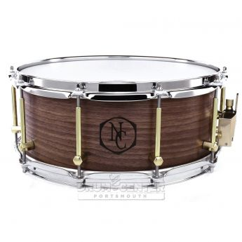 Noble And Cooley Solid Ply Walnut Snare Drum 14x6