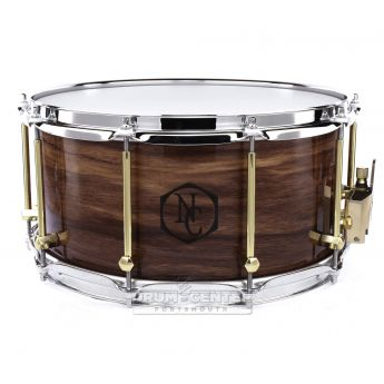 Noble And Cooley Limited Edition Solid Ply Walnut Snare Drum 14x7 Gloss