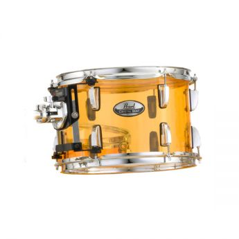 Pearl Crystal Beat Acrylic Tom Tom 12x8 Tangerine Glass