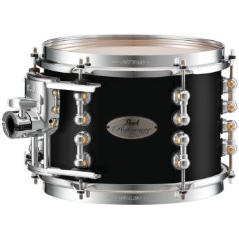 """Pearl Reference Pure Series 12""""x10"""" Tom - Piano Black"""