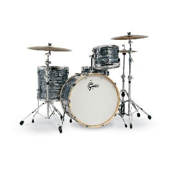 Gretsch Renown Drum Set : 3pc 24/13/16 Silver Oyster Pearl