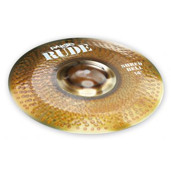 """Paiste Rude Shred Bell Cymbal 14"""""""