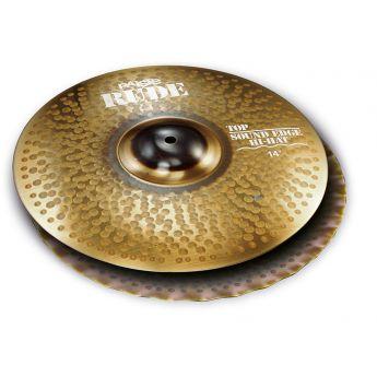 "Paiste Rude Sound Edge Hi Hat Cymbals 14"""