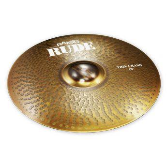 "Paiste Rude Thin Crash Cymbal 18"""