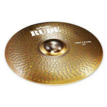"Paiste Rude Thin Crash Cymbal 20"""