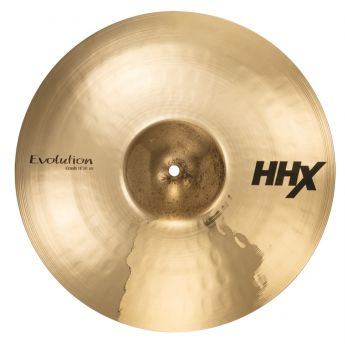"Sabian HHX Evolution Crash Cymbal 16"" Brilliant"