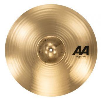 """Sabian AA Raw Bell Crash Cymbal 18"""" Brilliant"""