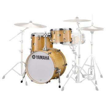 Yamaha Stage Custom Birch Jazz 3pc Drum Set Natural Wood
