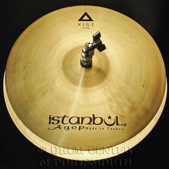 """Istanbul Agop Xist Natural Hi Hat Cymbals 14"""""""