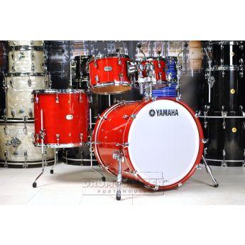 Yamaha Absolute Hybrid 4pc Drum Set 22/10/12/16 Red Autumn